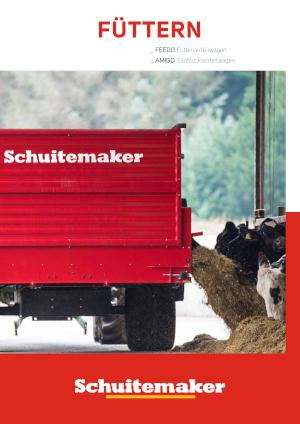 SCHUITEMAKER Füttern Futterverteilwagen Siloblockverteilwagen
