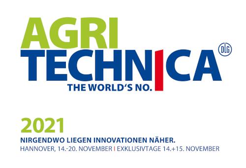 Die AGRITECHNICA 2021 findet vom 14. - 20.11.2021 statt.